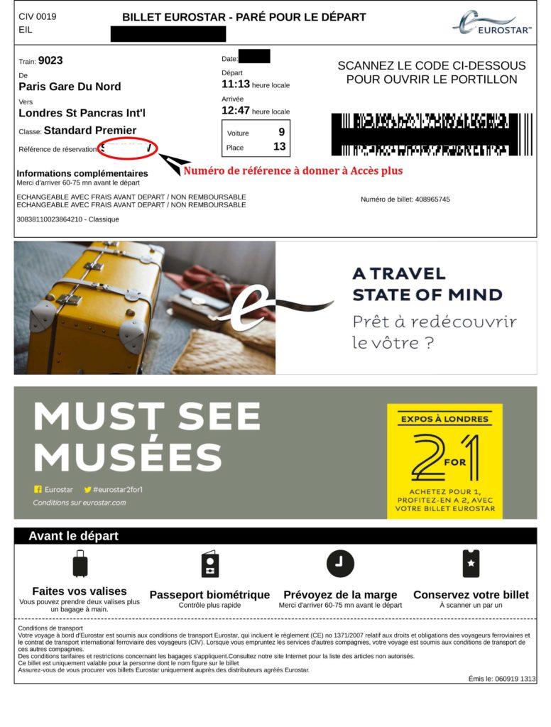 Description : ITINÉRAIRE:000 EN COURS DE RÉDACTION:TRAIN:EUROSTAR:exemple billet de train eurostar.jpg